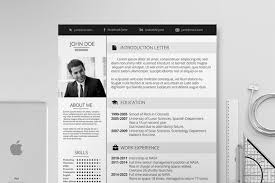 elegant resume  resume templates on creative marketelegant resume   resumes