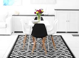 large black and white rug within indoor outdoor green decore ideas area rugs 20