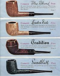 Comoy Pipe Shape Chart Pin On Tobacciana Collection Joe Haupt