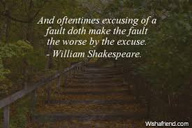 Excuses Quotes Custom Excuses Quotes