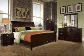 king bedroom sets dark wood