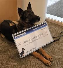 Aftermath Services Awards 1000 K9 Grant To Pekin Police Department