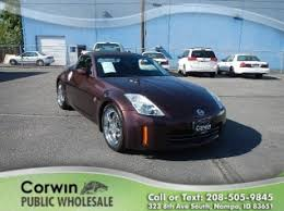 nissan 350z black convertible. used 2006 nissan 350z enthusiast for sale in nampa id 350z black convertible