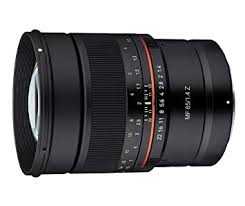 <b>Samyang MF 85mm F1.4</b> Telephoto Lens for Z Mount: Amazon.in ...