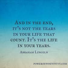 Senior Life Quotes