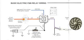basic cooling fan wiring diagram basic wiring diagrams cars cooling fan relay wiring diagram nilza net