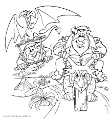 Small Picture Flintstones color page Coloring pages for kids Cartoon