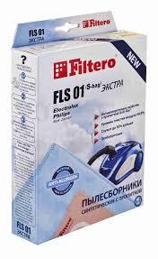 Комплект <b>пылесборников Filtero FLS</b> 01 (4) (S-bag) ... - купить с ...