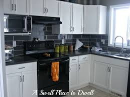 painted kitchen cabinets with black appliances. White Kitchens With Black Appliances Contemporary Painted Kitchen Cabinets Images On Granite Countertops H