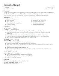 Server Resume Skills Cool Resume Objective Server Server Resume Objective Server Resume