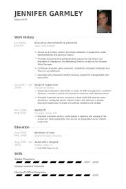 Resume for an Administrative Position   Susan Ireland Resumes