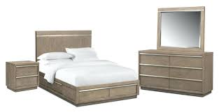 American Signature Bedroom Furniture 6 Piece King Storage Set Plantation Cove