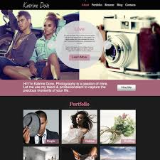 Free Photography Website Templates Enchanting Free Photography Responsive Website Template