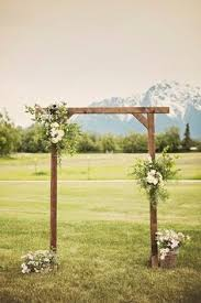 Best Wooden Arch Ideas Wedding Decorations Sorry Diy The Thesorrygirls Decor Drapes Wood Photobooth Photoshoot Summer Flower Girls Arbor Floral Wall Archway