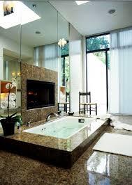 15 luxury bathrooms with fireplace luxury bathrooms 15 luxury bathrooms with fireplaces bathroom fireplaces designrulz 16