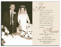 017 Free Wedding Anniversary Invitation Templates 50th Refrence