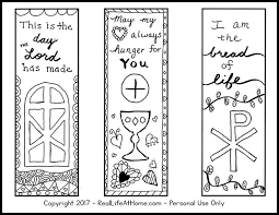 So how can you make sure that your kid learns the verses and doesn't feel burdened by the we hope you find our collection of free printable bible verse coloring pages online useful in teaching your kid the verses from the bible. Free Color Your Own Printable Religious Bookmarks For Children And Adults