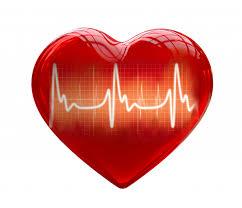 Dessin D Un Coeur Rouge Et D Une Courbe D Lectrocardiogramme