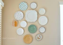 how to hang plates plate wall