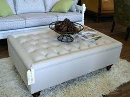 upholstered coffee table ottoman wonderful square coffee table ottoman square ottomans coffee tables on decorating home