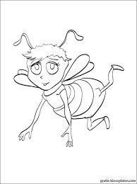 Kleurplaat Met Bee Movie Gratis Kleurplaten