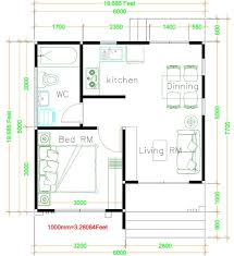 Create the illusion of a bigger space with these tips. House Design Plans 6x6 With One Bedrooms Gable Roof Samphoas Plan