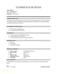 Resume Samples For Experienced Professionals Free Download With Free