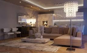 recessed ceiling lighting ideas. Modern Open Living Room Design With Freestanding Crystal Lighting Ideas And Recessed Ceiling I
