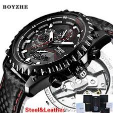 BOYZHE Men New Automatic Mechanical Watch Mens <b>Top Luxury</b> ...