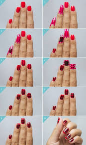 New Style Christmas Inspired Nail Art Ideas In Easy Tutorials ...