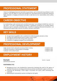 Call Center Operatore Sample Cv Example With No Experience Templates