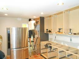 Installing Cabinets In Kitchen Youtube Installing Kitchen Cabinets