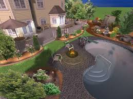 Backyard Design Free Use Online Software Backyard Design Virtual Extraordinary Home Small My Elements