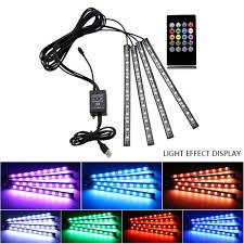 Car Atmosphere Light Price 2019 5v One For Four 12led Car Usb Atmosphere Light Remote Control Voice Rgb Colorful Foot Atmosphere Light 48led Led Car Interi From Miaotang 29 0