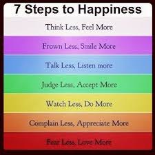 the seven steps to happiness