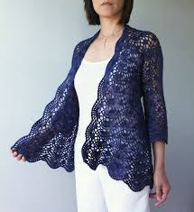 Lacy Crochet Cardigan Pattern