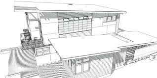 modern architectural drawings. House Architectural Modern Drawings U
