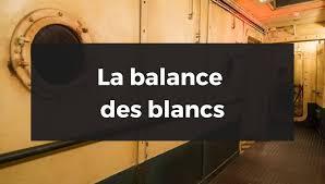 La Balance Des Blancs Fabien Beilhe