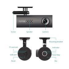 Combo Camera Hành Trình cho Ô tô Xiaomi 70mai Dash Cam Full HD 1080P , Bản  1S Midrive D06, Kèm thẻ nhớ 32GB A1 Lexar -Hàng chính hãng (New Model) -  Camera