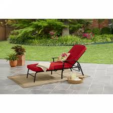outdoor patio chaise comfort cushion