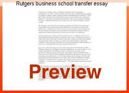 rutgers university essay rutgers business school transfer essay term paper academic writing