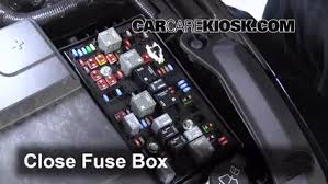 replace a fuse 2014 2016 chevrolet impala 2014 chevrolet impala 2014 Chevy Impala Fuse Box 6 replace cover secure the cover and test component 2014 chevy impala fuse box diagram