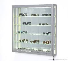 wall mounted display case 1 x 1m
