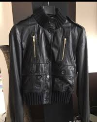 details about gucci madonna authentic luxury leather jacket italy np 2800