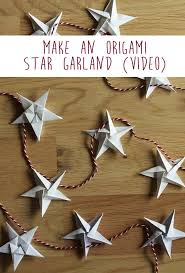 Best 25 Origami Garland Ideas On Pinterest Origami Stars