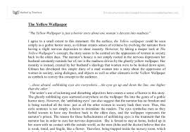 the yellow essay gcse english marked by teachers com document image preview