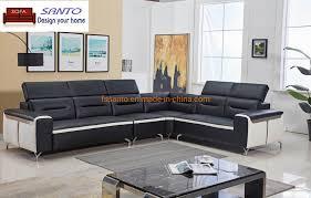 Leather Sofa Set Design Hot Item Modern Fashion Sectional Sofa Set Corner Style Leather Sofa Dubai Sofa Furniture Corner Sofa Living Room Furniture