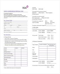 38 insurance proposal form in commercial general liability