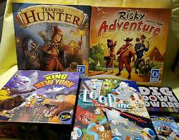 6 BOARD GAME LOT - King of New York, Risky Adventure, Treasuer Hunter, Loop  Inc   eBay