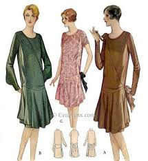 1920s Dress Patterns Stunning 48s Patterns Vintage Reproduction Sewing Patterns